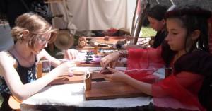Atelier d'initiation aux tissage aux plaquettes