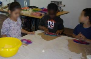 Atelier d'initiation feutre, classe de CP