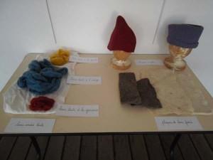 Transformation de laine en feutre Atelier de Julie